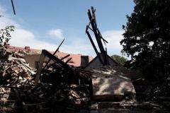 Lubomierz akcja poszukiwawcza w zawalonym budynku zakończona 11