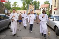 Lwóek Śląski procesja Bożego Ciała 07