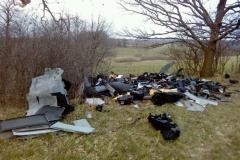 Dzikie wysypisko śmieci w Płóczkach Górnych 1