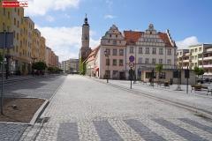 Lwóek Śląski Plac Wolności dolny rynek 09