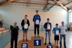 Medale tenisistów stołowych 2