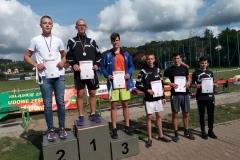Medale w biegach przełajowych LZS 01