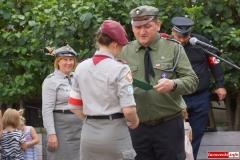 mieszkańcy Lwówka Śląskiego pamiętają o Powstaniu Warszawskim 52