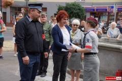 mieszkańcy Lwówka Śląskiego pamiętają o Powstaniu Warszawskim 53
