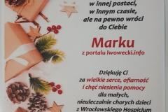Mikołajkowa zbiórka dla dzieci z hospicjum 02