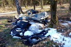 Mirsk dzikie wysypisko śmieci 09