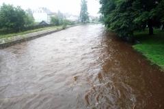 Mirsk wezbrane stany rzek podtopienia 06