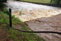 Mirsk wezbrane stany rzek podtopienia 20