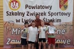 """Mistrzostwa Powiatu SZS – mini piłka siatkowa """"2"""" dziewcząt i chłopców 3"""