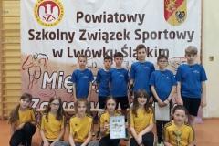 """Mistrzostwa Powiatu SZS – mini piłka siatkowa """"2"""" dziewcząt i chłopców 4"""