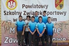 Piłka Ręczna Chłopców Igrzysk Młodzieży 2019  SP Pławna
