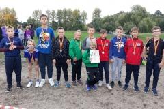 Mistrzostwa Powiatu - Sztafetowe Biegi Przełajowe  08