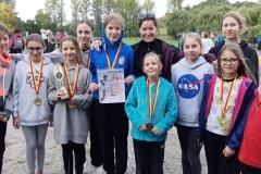 Mistrzostwa powiatu - sztafetowe biegi przełajowe  02