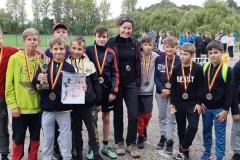 Mistrzostwa powiatu - sztafetowe biegi przełajowe  05