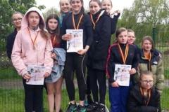 Mistrzostwa powiatu w lekkoatletycznych igrzyskach młodzieży 17