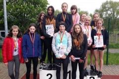 Mistrzostwa powiatu w lekkoatletycznych igrzyskach młodzieży 19