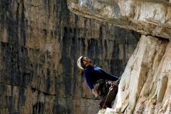 Na stanowisku w czasie wspinaczkiw Dolomitach włoskich (21)