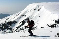 W czasie skituringu w czeskich Karkonoszach