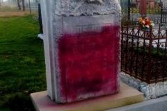 Niemiecki pomnik padł ofiarą wandali 1