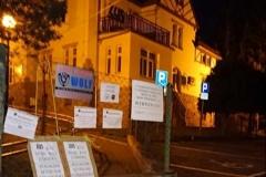 Lwówek Śląski Niemy protest przed ZUS 3