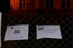 Lwówek Śląski Niemy protest przed ZUS 6
