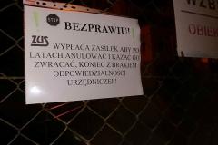 Lwówek Śląski Niemy protest przed ZUS 7