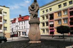 Fontanna w Lwówku Śląskim  (1)
