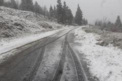 pierwszy śnieg w górach 2