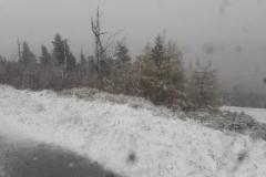 pierwszy śnieg w górach 6