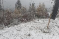 pierwszy śnieg w górach 9