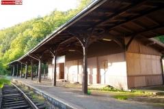 Pilchowce Zapora dworzec stacja most zabytek 04