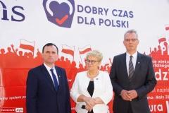 Lwówek Śląski Konferencja prasowa kandydatów PiS 2