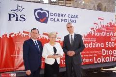 Lwówek Śląski Konferencja prasowa kandydatów PiS 3
