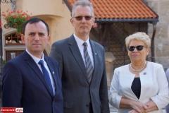 Lwówek Śląski Konferencja prasowa kandydatów PiS 5