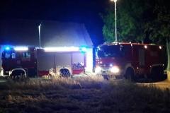 Pożar domu w Bełczynie 4
