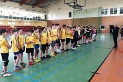 Półfinał Strefy Jeleniogórskiej SZS – piłka ręczna chłopców igrzysk dzieci 1