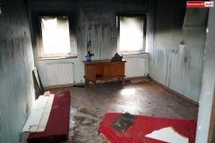 pożar w Skorzynicach akcja pomocy 07