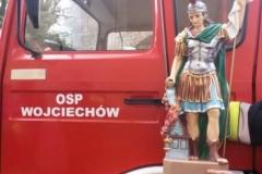 Poświęcenie samochodu OSP Wojciechów 2