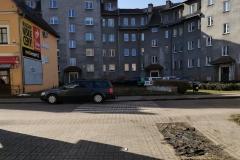 Potrącenie na ulicy Sienkiewicza w Lwówku Śląskim2