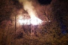 Czerniawa-Zdrój pożar budynku 2