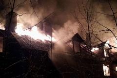 Czerniawa-Zdrój pożar budynku 5