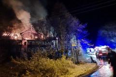 Czerniawa-Zdrój pożar budynku 6