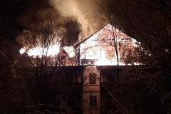 Czerniawa-Zdrój pożar budynku 7