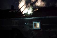 Pożar budynku w Rębiszowie08
