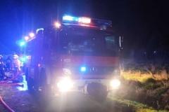 Pożar budynku w Rębiszowie10