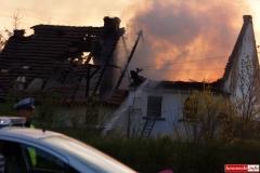 pożar domu w Kotliskach 01