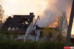 pożar domu w Kotliskach 05