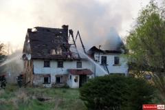 pożar domu w Kotliskach 06