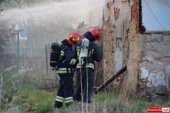 pożar domu w Kotliskach 07
