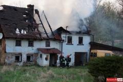 pożar domu w Kotliskach 09